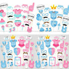 Baby Shower Gender Reveal Party Supplies Boy or Girl Photo Booth Props