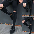 Kyпить HOT Mens Stretchy Ripped Skinny Biker Jeans Destroyed Taped Slim Fit Denim Pants на еВаy.соm