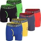 2 Pack Mens Crosshatch Designer Boxer Shorts Boxers Underwear Trunks Gift Set