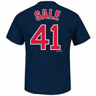 Chris Sale Boston Red Sox MLB Majestic Player Men T Shirt on Ebay