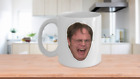 Dwight Schrute Crying Coffee Mug Cup The Office Tv Show Gift Merchandise