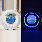 Floating Globe Magnetic Levitation O Shape Globe World Map LED Light Desk Lamp