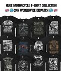 Motorcycle T Shirt Indian Motorbike Triumph Dakar Race Harley Davidson Biker $11.11 USD on eBay