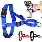 Stop Pulling Nylon Easy Control Dog Harness No Choke for Dogs S M L 3 Colors