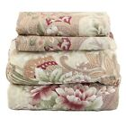 Beautiful Bedding Super Soft Egyptian Comfort Sheet Set Striped Paisley image