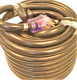 50 Amp - 75 ft RV Extension Cord with Pull Handles & Lighted Ends (9513T)
