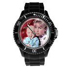 PERSONALISED CUSTOM MENS  SPORT WRIST WATCH YOUR  PHOTO GIFT BOX ENGRAVING
