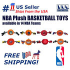 NBA Basketball Toy for DOGS & CATS - Licensed, Heavy-duty Ropes, with SQUEAKER!!