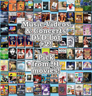 streets of fire music video - Music Videos & Concerts DVD Lot #2: DISC ONLY - Pick Items to Bundle and Save!
