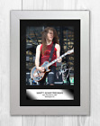 Marty Friedman Megadeth A4 signed & mounted photograph poster. Choice of frame.