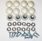 25 Dura Snap Upholstery Buttons Champagne Pearl Choice Of Size And Screws