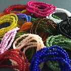 Multicolored African Waist Beads - Many Color Choices