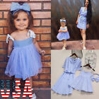 USA Mother&Daughter Boho Clothes Parent-child dress Family Matching Outfits Sets
