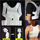 UK Posture Corrector Support Magnetic Back Shoulder Brace Belt For Men Women