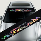 Universal Car Front Windshield DIY Decal Vinyl  Auto Window Exterior Stickers