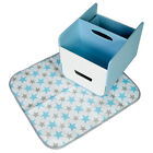 b.box the essential diaper caddy with change mat - multi colour