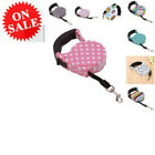 Retractable Dog Leash 16ft Cute Nylon Tape Walking Lead Rope For Pet Cat Puppy