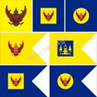 thailand royal flag 4x4ft 3x5ft king crown