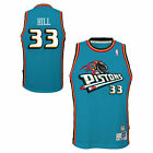 NBA Detroit Pistons Grant Hill Hardwood Classics Road Swingman Jersey Shirt on eBay