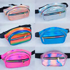 Women Men Fanny Pack Clear Glitter Waist Belt Bum Bag Pouch Hip Purse Travel Bag
