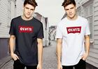 New Top 1Elvis Elvi's Red inspired Banner Famous Brandl T-shirt Adult Size Tee