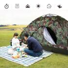 Outdoor Portable Single Layer Camping Tent Wigwam Camouflage 2 Person Waterproof