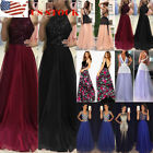 US Women Formal Wedding Bridesmaid Long Evening Party Prom Gown Cocktail Dress