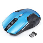New Wireless Mouse Optical 6 Buttons Computer Gamer 2000DPI USB Receiving Mouse