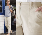 new THE WHITE COMPANY CHINOS TROUSERS STRAIGHT BEIGE CLAY CASUAL 6 - 14  RRP £89