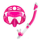 Pro Snorkel Set Diving Mask Top Dry Breath Tube for Adults Kids Scuba Swimming