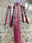 Bright Pink Bling Bones Dog Collar - New with Tag