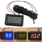 Внешний вид - Newest 12V Vehicle Digital Thermometer Car LED Temperature Meter Probe -50~110°C