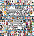 Exercise & Fitness DVD Lot #1: DISC ONLY - Pick Items to Bundle and Save!