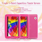 """HD 7"""" Tablet PC for Education Kids Children Android 4.4 Quad Core 8GB Camera"""
