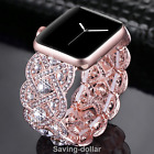 Rhinestone Diamond Bracelet Strap For Apple iwatch Bands Women 38mm Series 3 2 1 image