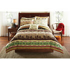 complete comforter sets queen - Gone Fishing Complete Comforter Set Twin/Twin XL, Full,Queen,Canoes,Fish,Cabins