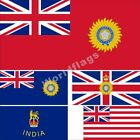 India British Flag 3X5 3X6FT Governor-General Marine Navy East India Company