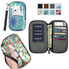 Kyпить Family Travel Wallet Passport Holder RFID Blocking Document Organizer Bag Case на еВаy.соm