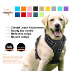 Rabbitgoo dog harness no pull pet harness adjustable Reflective Oxford