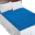 Deluxe Cooling Mattress Pad Topper With 7 Zones, by Collections Etc image