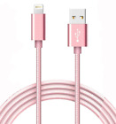 1.5/3.0/6.0 Ft Fast Charger  Heavy Duty USB cable for APPLE iPhone 5 6 7 8 X