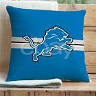 Detroit Lions NFL Custom Pillows Car Sofa Bed Home Decor Cushion Pillow Case on eBay
