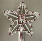 """18"""" Rhinestone Crystals Scepter Wand Sweet 15 Quince Quinceanera CLEAR PINK BLUE"""