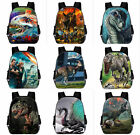 Jurassic World dinosaur Backpack Kids Schoolbag Mochila Travel Laptop Bags