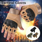 Knuckle Half Finger Gloves Paintball Tactical Fingerless Motorcycle Cycling