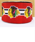 GROSGRAIN CHICAGO BLACKHAWKS HOCKEY 3 INCH RIBBON FOR HAIR BOWS DIY CRAFTS $5.25 USD on eBay