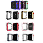 Electroplate TPU Protector Case Full Cover For Apple Watch Series 3/2/1 38 42mm image