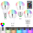 LED Bulb Light with IR Remote Control 16 Colors 3W RGB Lighting Lamp for Decor