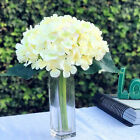 Blush Artificial Hydrangea Flower Bouquet  for Home Wedding Decoration