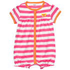 Carters 3 Months Snap-up Romper Baby Girl Clothes Butterfly Pink